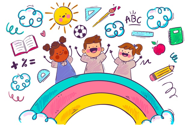 rainbow-children-school-background_23-2148598494